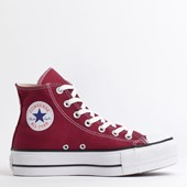 Tênis Converse Chuck Taylor All Star Platform Lift Hi Bordo Preto CT12000010