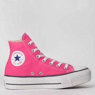 Tênis Converse Chuck Taylor All Star Platform Lift Hi Pink Fluor CT12000013