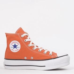 Tênis Converse Chuck Taylor All Star Platform Lift Hi Vermelho Ferrugem CT12000018