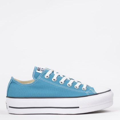 Tênis Converse Chuck Taylor All Star Platform Lift Ox Azul Acido CT09630016
