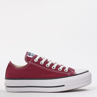 Tênis Converse Chuck Taylor All Star Platform Lift Ox Bordo CT09630010
