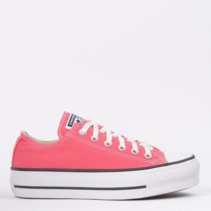 Tênis Converse Chuck Taylor All Star Platform Lift Ox Carmim CT09630022
