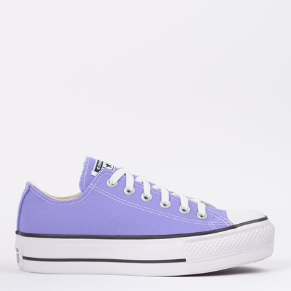 Tênis Converse Chuck Taylor All Star Platform Lift Ox Lilás CT09630023