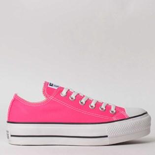 Tênis Converse Chuck Taylor All Star Platform Lift Ox Pink Fluor CT09630013