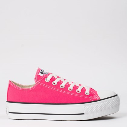 Tênis Converse Chuck Taylor All Star Platform Lift Ox Rosa Choque CT09630030