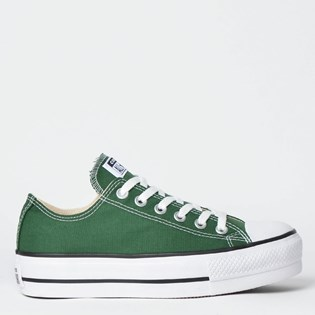 Tênis Converse Chuck Taylor All Star Platform Lift Ox Verde Floresta CT09630008