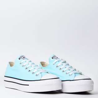 Tênis Converse Chuck Taylor All Star Platform Ox New Verde Agua CT09630002