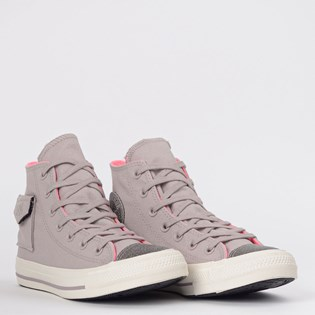 Tênis Converse Chuck Taylor All Star Pocket Cinza Ametista CT13870002