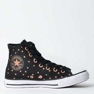 Tênis Converse Chuck Taylor All Star Preto Ouro Escuro CT11400002