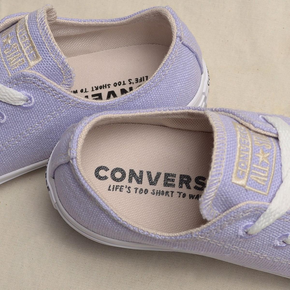 Tênis Converse Chuck Taylor All Star Renew Cotton Ox Moonstone Violet 166744C