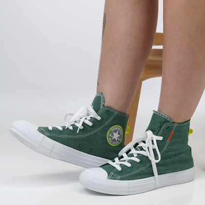 Tênis Converse Chuck Taylor All Star Renew Hi Midnight Clover Lemon Venom 168593C