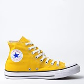 Tênis Converse Chuck Taylor All Star Seasonal Hi Amarelo CT04190014