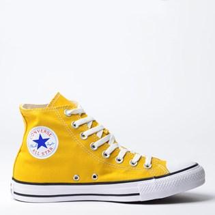 Tênis Converse Chuck Taylor All Star Seasonal Hi Amarelo CT04190014
