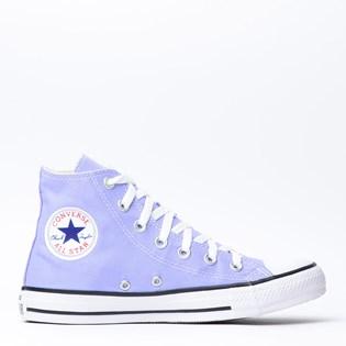 Tênis Converse Chuck Taylor All Star Seasonal Hi Azul Aco CT04190016