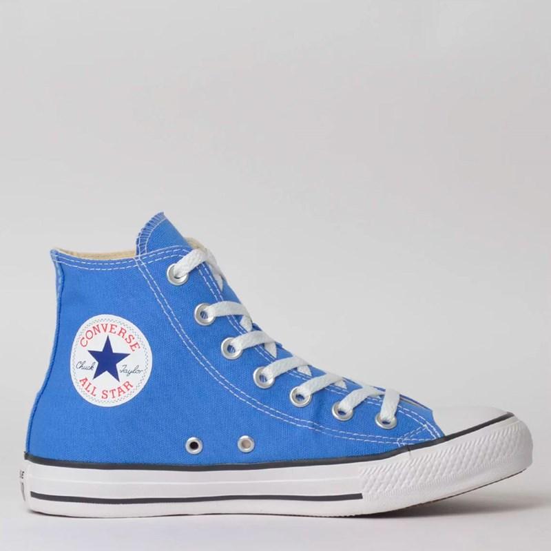 Tênis Converse Chuck Taylor All Star Seasonal Hi Azul Aurora CT04190031