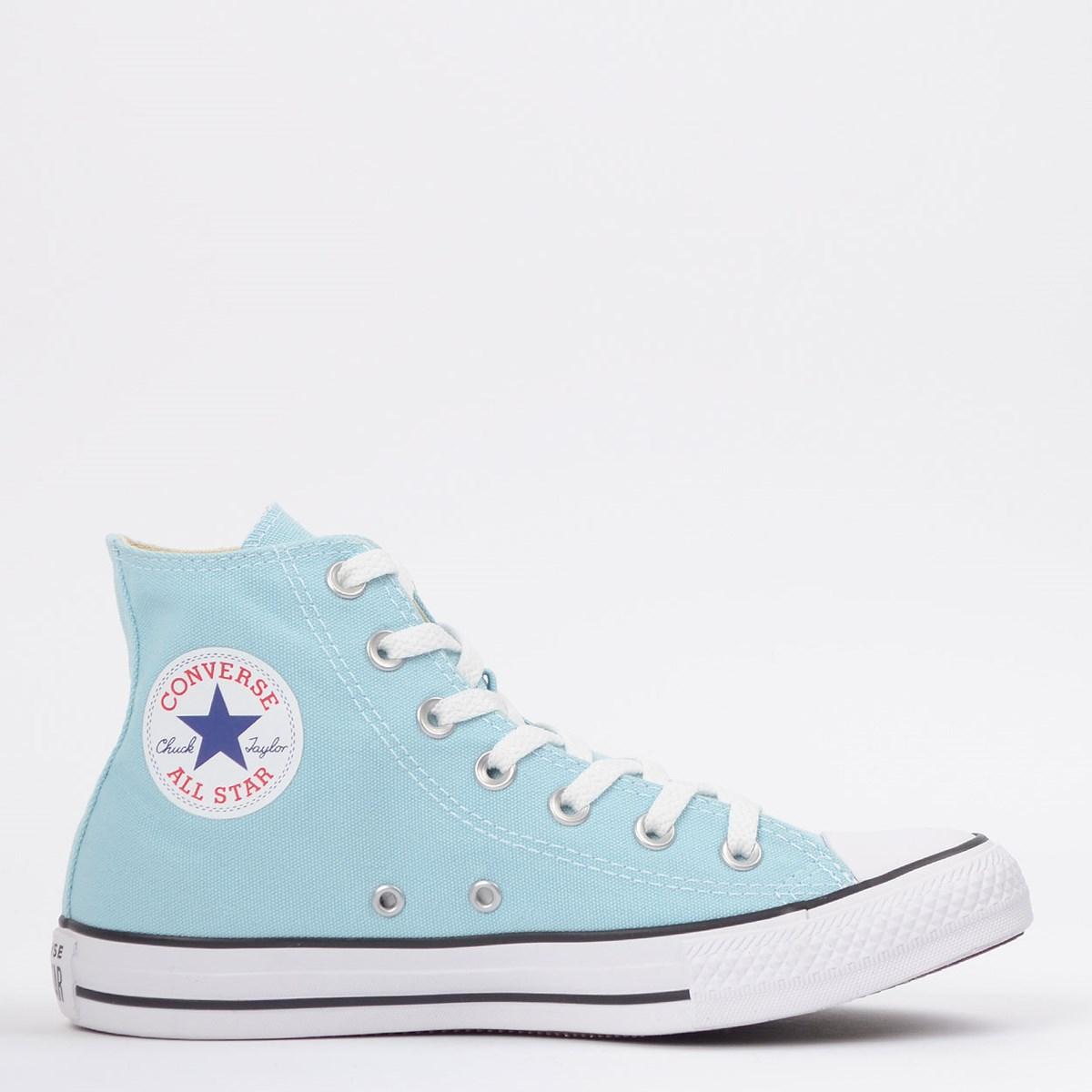 Tênis Converse Chuck Taylor All Star Seasonal Hi Azul Bebê CT04190045