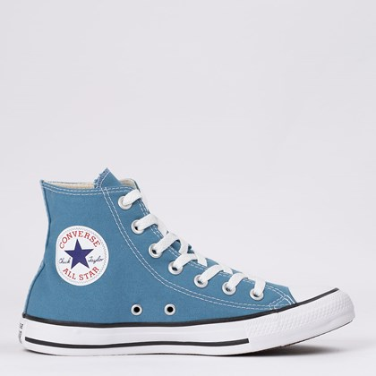 Tênis Converse Chuck Taylor All Star Seasonal Hi Azul Escuro CT04190049