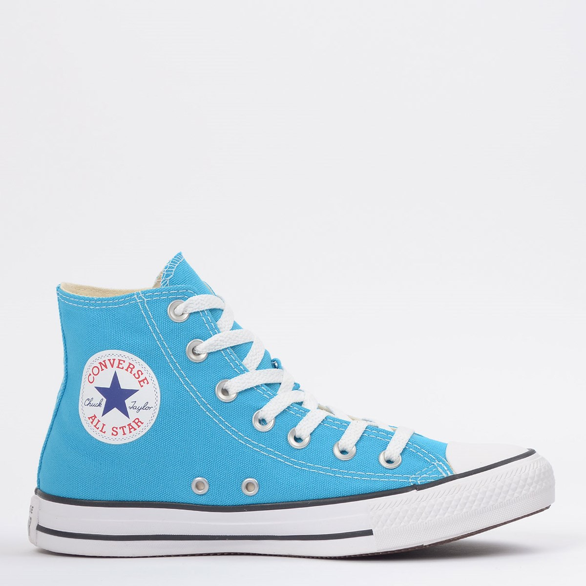 Tênis Converse Chuck Taylor All Star Seasonal Hi Azul Náutico CT04190044