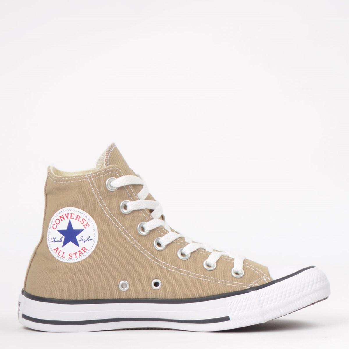 Tênis Converse Chuck Taylor All Star Seasonal Hi Caqui Branco CT04190039