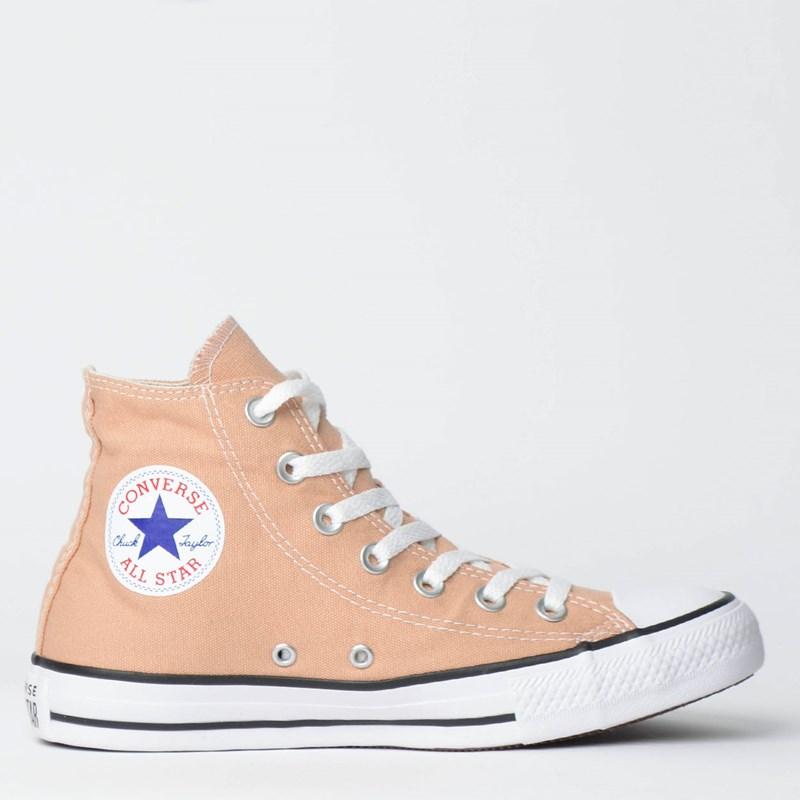 Tênis Converse Chuck Taylor All Star Seasonal Hi Creme CT04190025