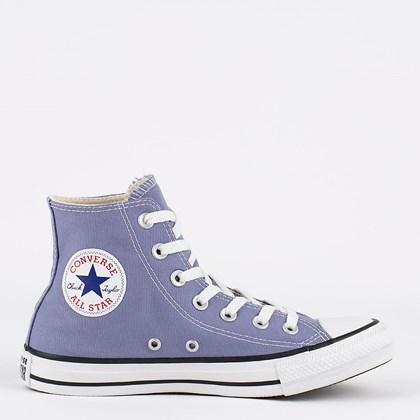 Tênis Converse Chuck Taylor All Star Seasonal Hi Lilas Preto CT04190055