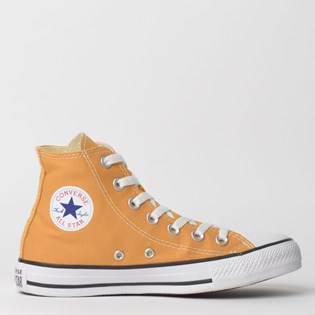 f40d34d35cd Tênis Converse Chuck Taylor All Star Seasonal Hi Mostarda CT04190027 ...