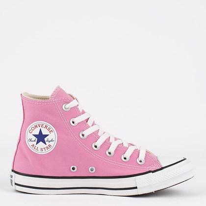 Tênis Converse Chuck Taylor All Star Seasonal Hi Rosa Flamingo CT04190056