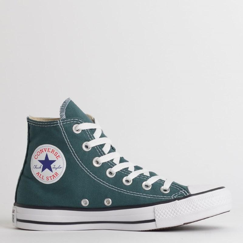 Tênis Converse Chuck Taylor All Star Seasonal Hi Verde Escuro CT04190040