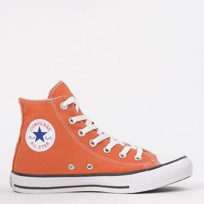 Tênis Converse Chuck Taylor All Star Seasonal Hi Vermelho Ferrugem CT04190038