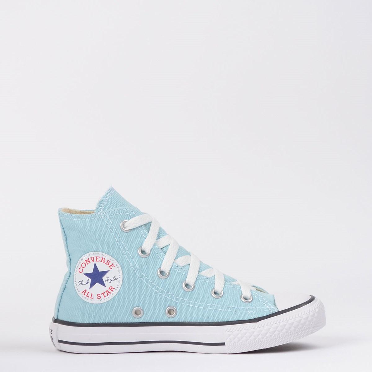 Tênis Converse Chuck Taylor All Star Seasonal Kids Azul Bebê CK04280027