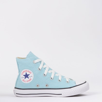 Tênis Converse Chuck Taylor All Star Seasonal Kids Azul Bebê CK04280027