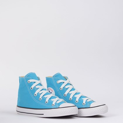 Tênis Converse Chuck Taylor All Star Seasonal Kids Azul Náutico CK04280026