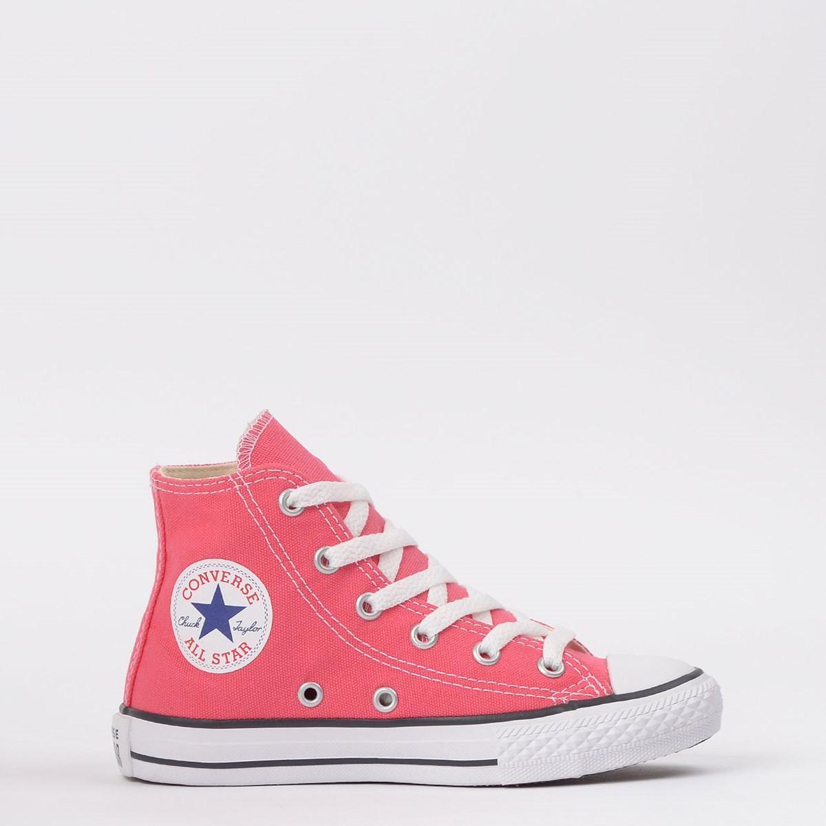 Tênis Converse Chuck Taylor All Star Seasonal Kids Carmim CK04280024