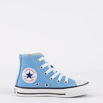Tênis Converse Chuck Taylor All Star Seasonal Kids Hi Azul Claro CK04280035