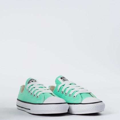 Tênis Converse Chuck Taylor All Star Seasonal Kids Ox Verde Brilhante CK04300030