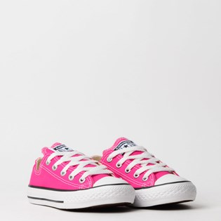 Tênis Converse Chuck Taylor All Star Seasonal Kids Pink Fluor CK04300018