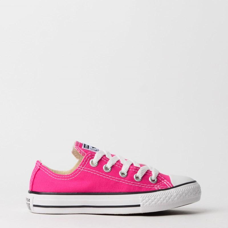 Tênis Converse Chuck Taylor All Star Seasonal Kids Pink Fluor CK04300018