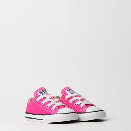 Tênis Converse Chuck Taylor All Star Seasonal Kids Pink Fluor CK04310018
