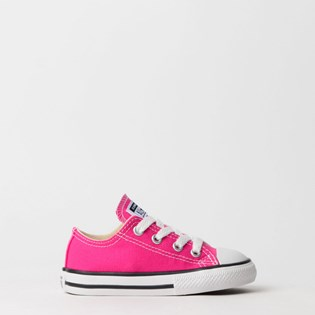 Tênis Converse Chuck Taylor All Star Seasonal Kids Pink Fluor CK04310018