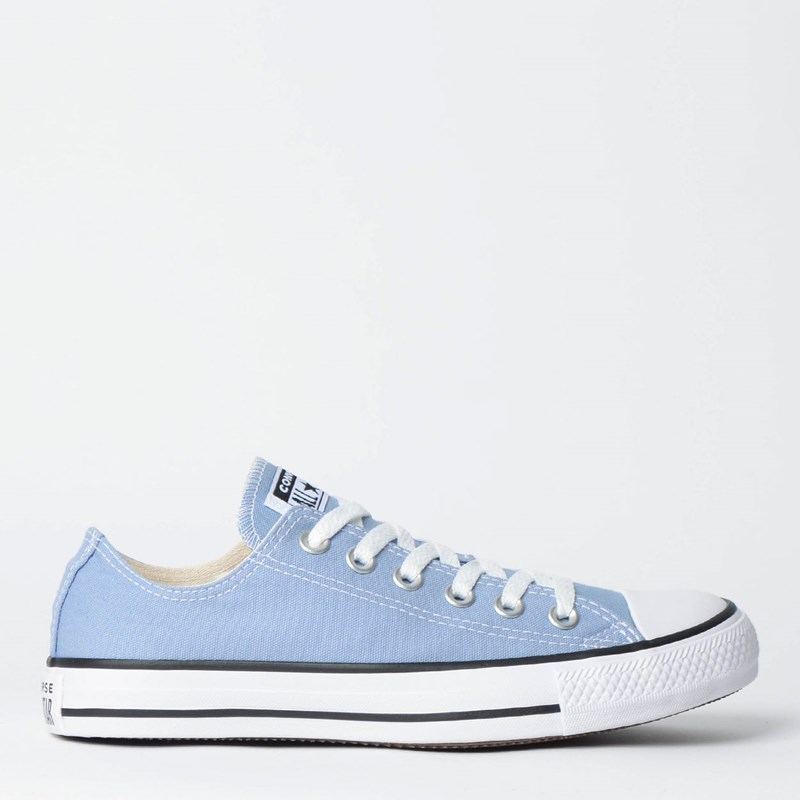 Tênis Converse Chuck Taylor All Star Seasonal Ox Azul Aco Preto CT04200030