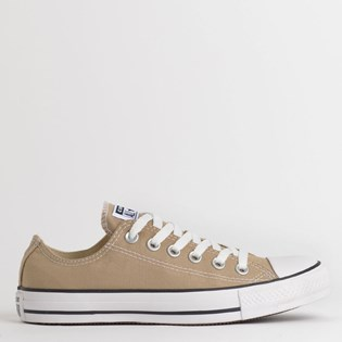 Tênis Converse Chuck Taylor All Star Seasonal Ox Caqui Branco CT04200039