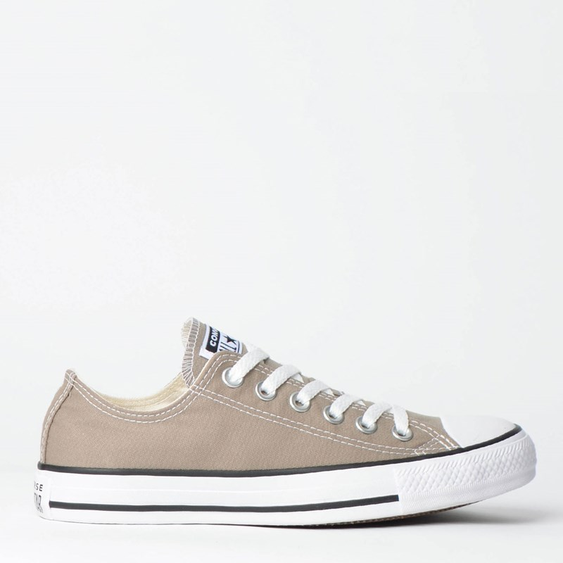 60cb35a90 Tênis Converse Chuck Taylor All Star Seasonal Ox Cinza Pedra CT04200026