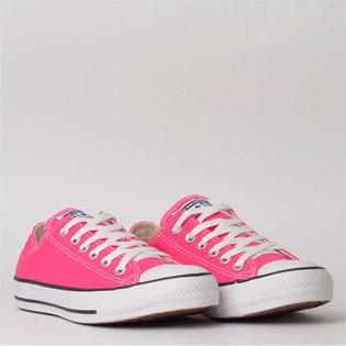 Tênis Converse Chuck Taylor All Star Seasonal Ox Pink Fluor CT04200033