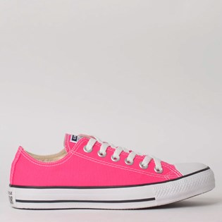 Tênis Converse Chuck Taylor All Star Seasonal Ox Pink Fluor CT04200033