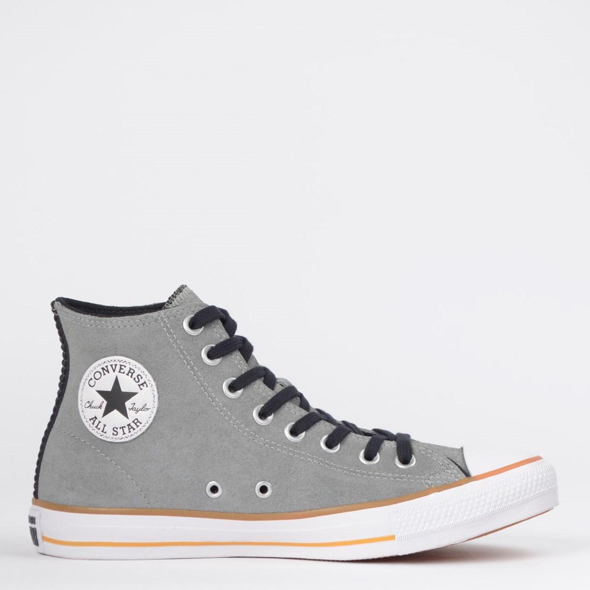 Tênis Converse Chuck Taylor All Star SKT Hi Aluminio Preto CT14260004