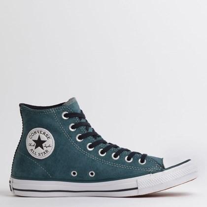 Tênis Converse Chuck Taylor All Star SKT Hi Verde Escuro Preto Branco CT14260002