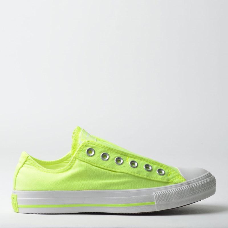 Tênis Converse Chuck Taylor All Star Slip Verde Fluor CT09270002 ... 5b8c0a6c5432a