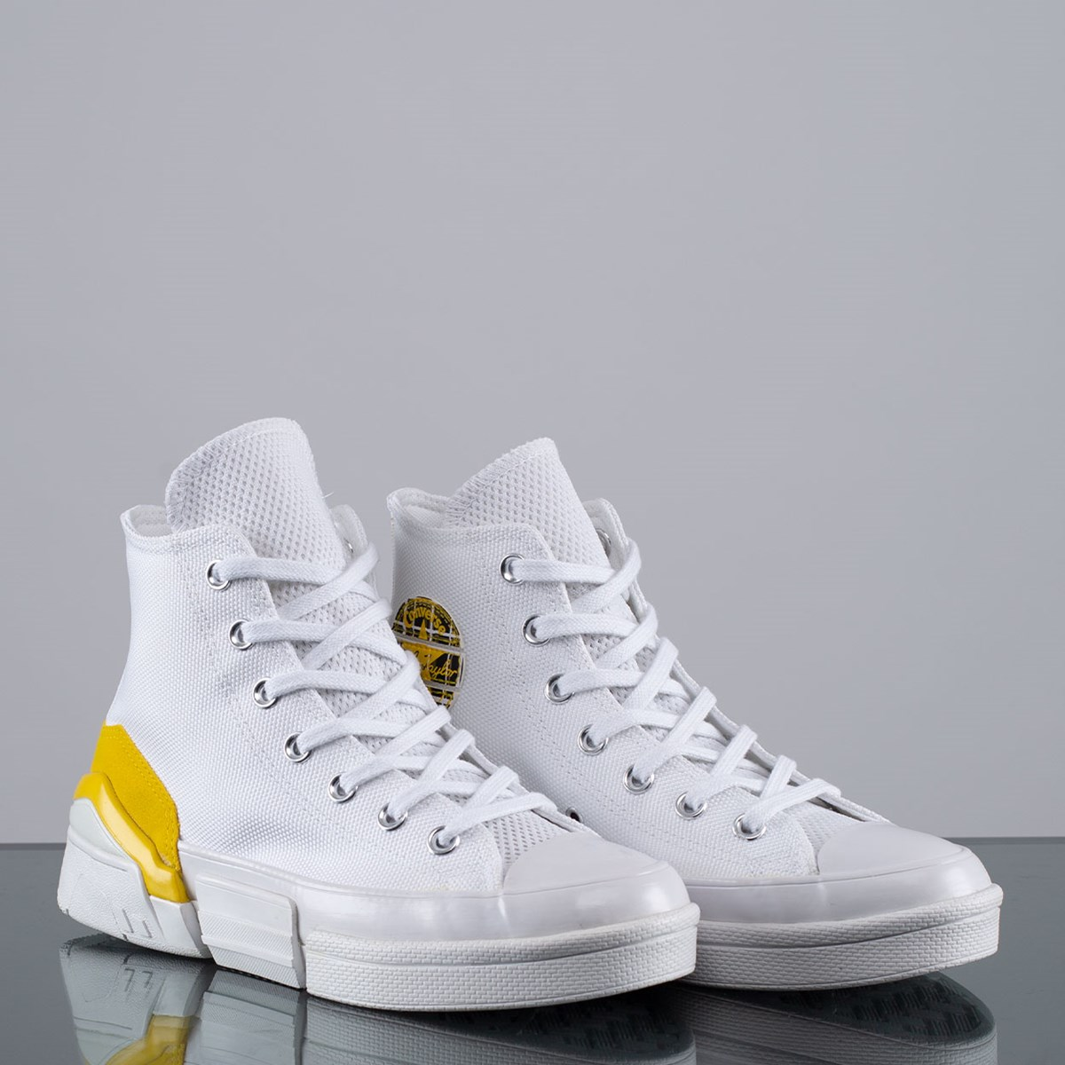 Tênis Converse CPX70 Mix and Match Hi White Speed Yellow 568648C