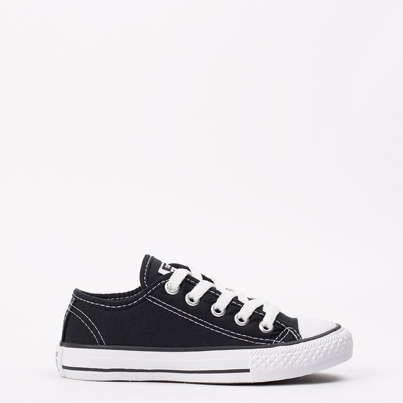 Tênis Converse CT As Border Ox Kids Preto CK05050002