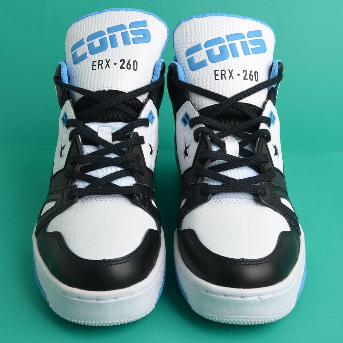 Tênis Converse ERX 260 Mid Black Coast White 167111C